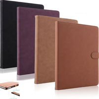 Case For IPad Air 1 Air 2 Coque Retro Luxury PU Leather Matte Folio Stand Tablet