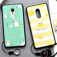 Xiaomi Redmi Note 4 Case 3D Fruit Landscape Thin Soft Silicon Case For Xiaomi Redmi Note