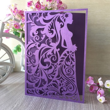 35pcs Bridal Shower Wedding Invitation card Greeting Blessing card Invitation Postcard Gift Cards