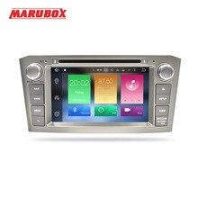MARUBOX 2Din Android 8,0 Octa Core 4 ГБ Оперативная память 32 ГБ Встроенная память для TOYOTA AVENSIS T25 2006-2011 автомобилей стерео радио gps навигации dvd-плеер