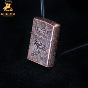 Image 3 - Briquet silex en métal Kerosene huile