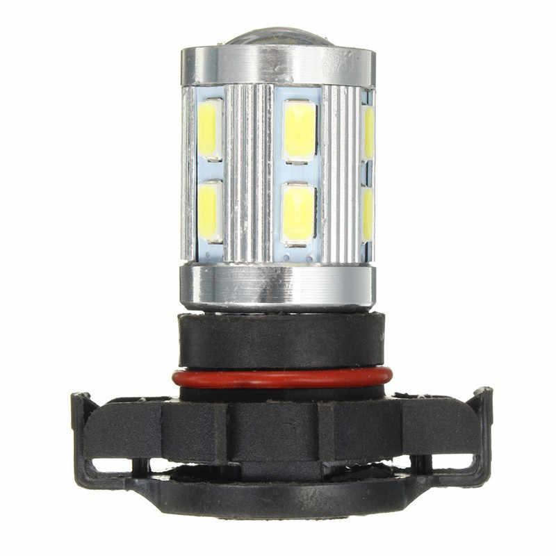 PSX24W H16 автомобильные лампочки Led лампа 5730/5630 противотуманная фара SMD фар дальнего света освещение белый 6000 K