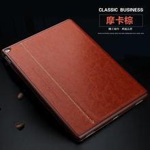 Фотография Business Style Luxury Flip Leather Case for iPad Pro 9.7 Fashion Slim Thin Smart Book Cover Tablet Stand Case for iPad Pro 12.9