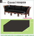 Furniture cover, Patio Cover for Combination of wooden sofa 230x90x73cm,Garden furniture's cover.water proofed