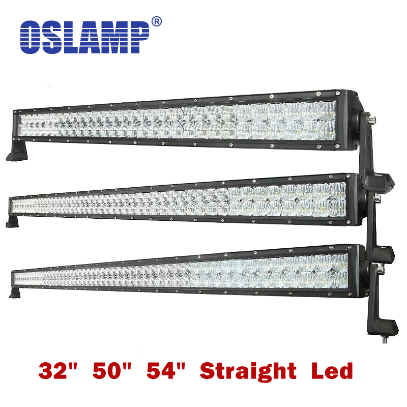 Oslamp 5D Lens 32 50 54inch Auto Combo Beam Led Light Bar OffRoad SUV Led Work Light Offroad Driving Led Bar PickUp Boat ATV bohemia ivele crystal люстра bohemia ivele crystal 1703 10 225 c gw
