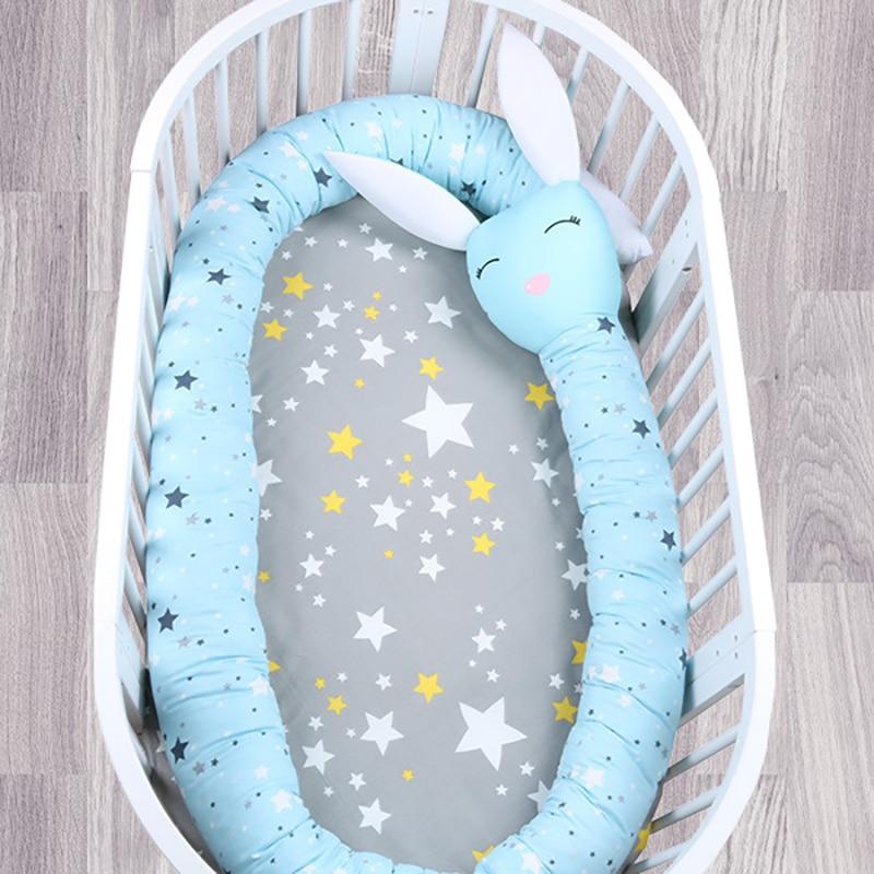 Literie pour bébé pare-chocs bébé berceau protecteur pare-chocs enfants chambre décoration nouveau-né coton literie bébé berceau pare-chocs 330 cm