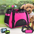 2016 Nueva Moda Transpirable Perro Bolsa de Carring Bolsas Para Perros Perro Bolsas de Viaje portador Del Perro Del Animal Doméstico Colorido Bolsa de Gato Portador de Pana Suave