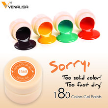 CANNI Gel Lacquer 5ml 141 Pure Colors Soak Off UV LED Gel Venalisa DIY French Gel Polish Design Nail Painting Color Gel Varnish