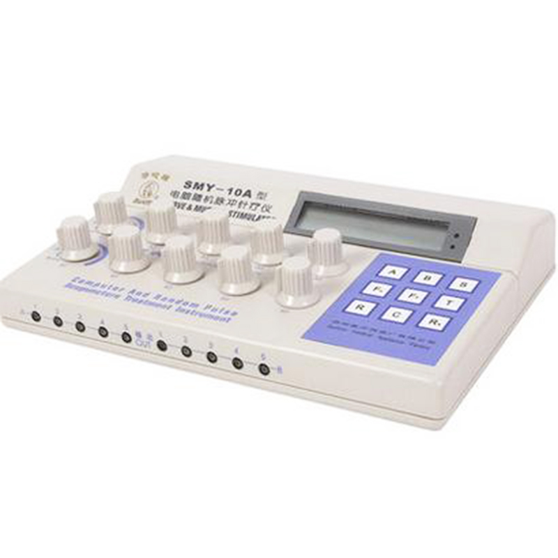 SMY-10A Nerve <font><b>Muscle</b></font> Stimulator Computer Random Pulse 10 Channel Electronic Pulse Acupuncture Therapeutic TENS EMS Massage