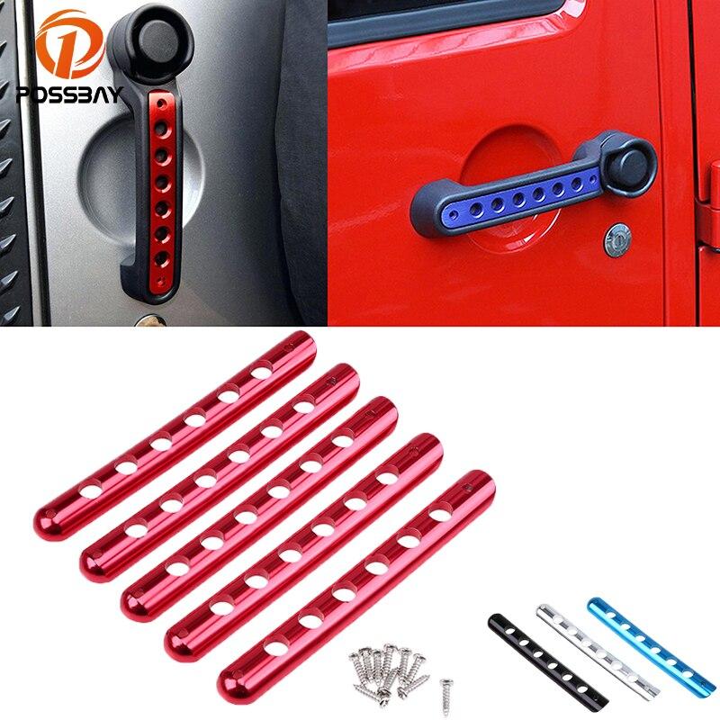 Possbay Door Handle Inserts Front Rear Aluminum Grab