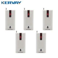 5pcs 433MHZ Wireless Door Window Vibration Breakage Detector E30 Shock Sensor For Home Security Alarm System