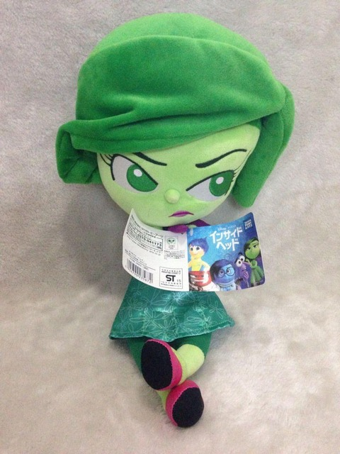 Inside Out Disgust Pixar Plush Figure Inside Out Plush Toys