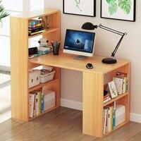 Lk632 дома Тетрадь простой компьютерный стол деревянный стол ноутбук многослойная книжный шкаф бюро многофункциональный шкаф хранения