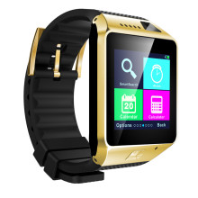 GV18 Plus Smart Watch For IPhone Android 1.5inch Support SIM Card Wristwatch With 3.0MP Camera Bluetooth Pedometer Extra TF Card