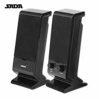 SADA V 112 Portable Stereo Bass USB Combination Computer Speaker Mini Subwoofer For Laptop Notebook Desktop