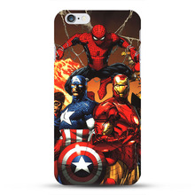 Marvel All Superheros iPhone Case