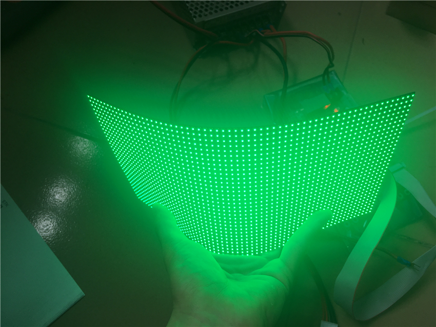 Flexible Dot matrix RGB hd led module