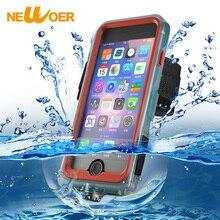Водонепроницаемый чехол для iPhone 7 Plus snowproof противоударный Чехол повязку на открытом воздухе подводный чехол для телефона newoer