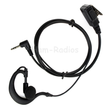 1 PIN PTT MIC Earhook Earpiece Headset for Radio HYT TC310 TC320 TC1688 T6200 T6210 T6220 T6250 T6300 T6400 T7200 C1042A