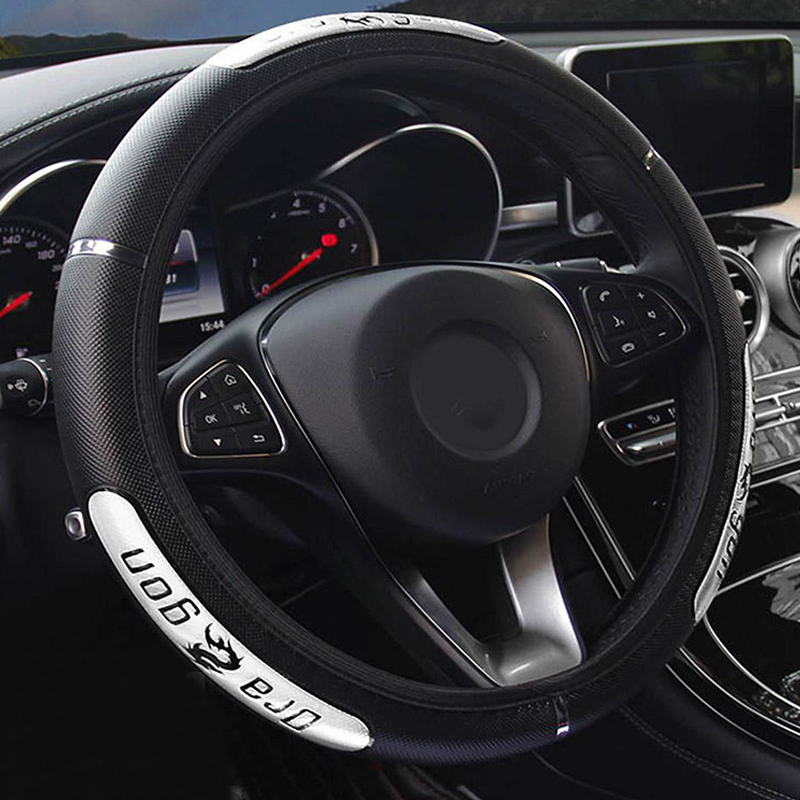 Reflective PU Leather Steering Wheel China Dragon Design Fashion Sports Style Car Steering Wheel Covers Wholesale Free shipping-in Steering Covers from Automobiles & Motorcycles on Aliexpress.com | Alibaba Group
