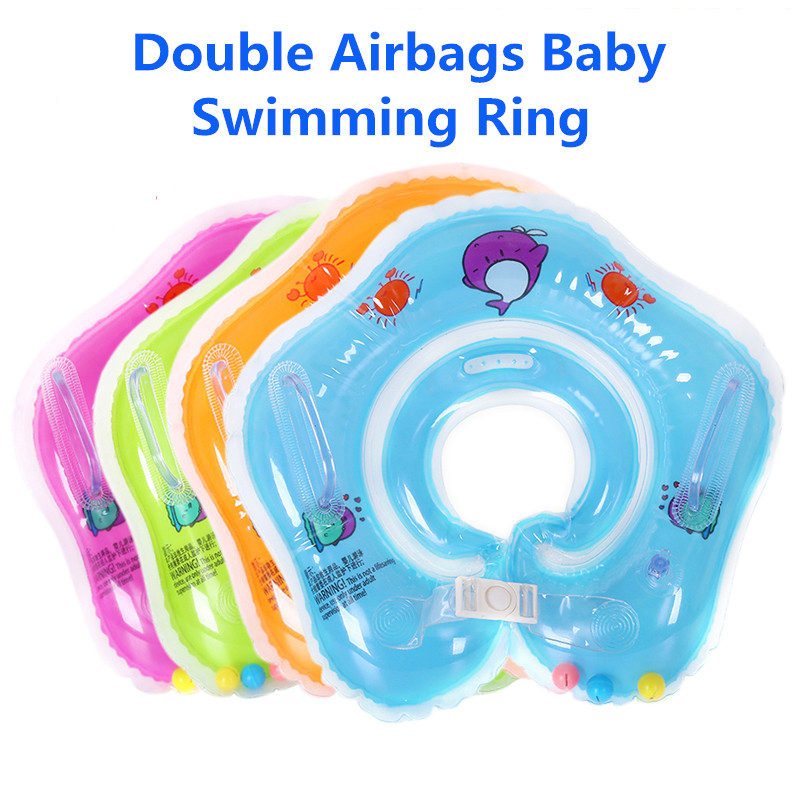 Summer Inflatable Baby Cute Swimming Rings For 0-3 Years Old Kids Bathing Circle Swimming Pool Accessories Pool Rafts Inflatable
