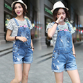Summer Female Shorts Jumpsuit Ripped Vintage Shorts Jumpsuit Hole Denim Overalls Washed Women Loose Bodysuit Jumpsuits SJ-4976
