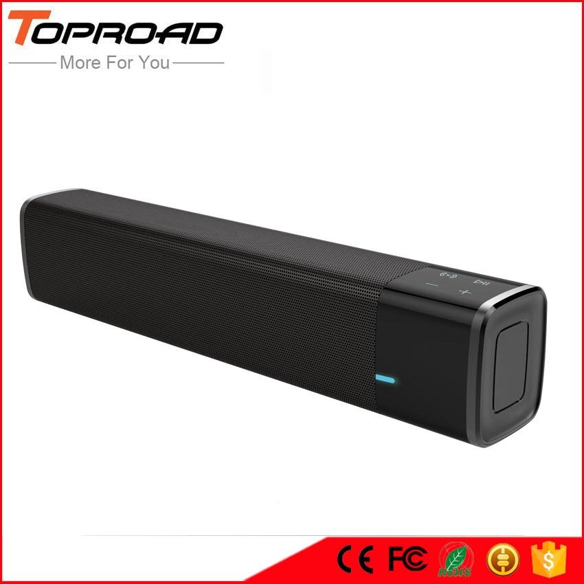Toproad Portable 20w Wireless Bluetooth Speaker Soundbar