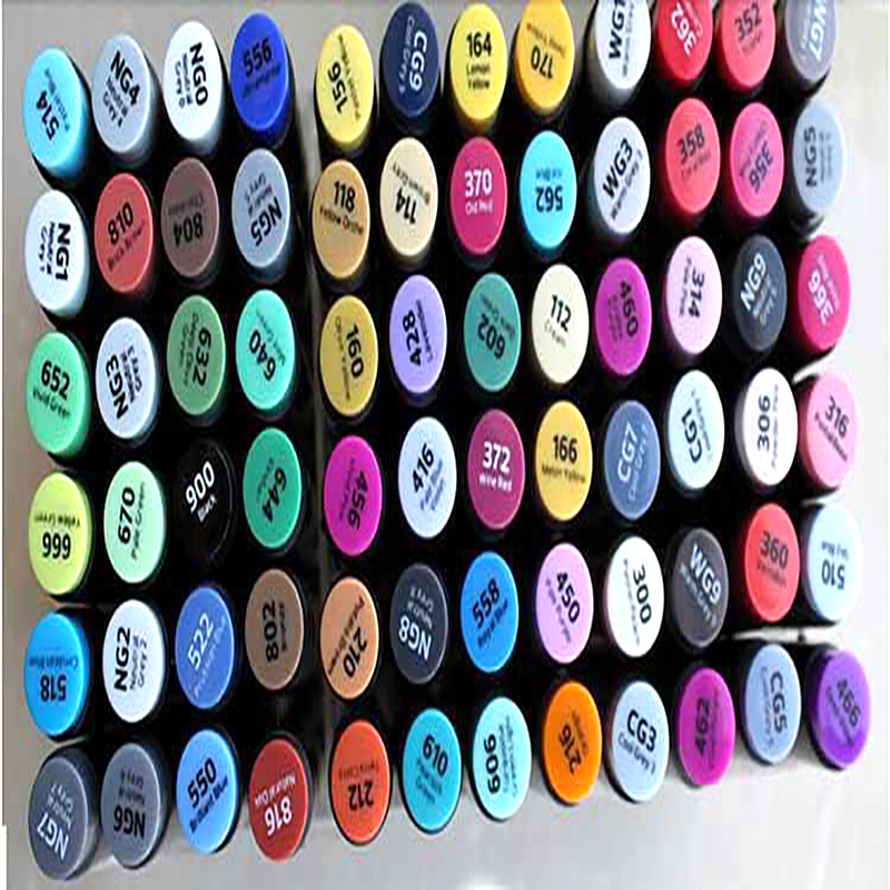 163 Colors Stylefile Oil Dual Headed Mark Pen Professional Hand-painted Color Suit Art Supplies w110145 soft head fine water mark pen 48 60 color beginners painting professional equipment advanced ink student art suit