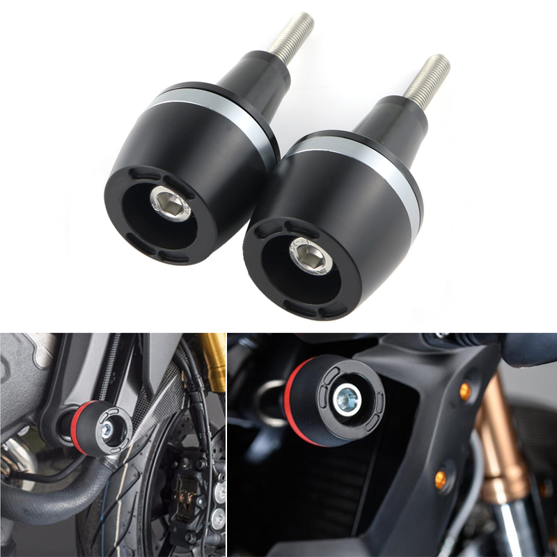Motorcycle Frame Sliders Crash Falling Protection Protector For BMW F800R/K1200R/K1300R billet motorcycle frame crash pads engine case sliders falling protector for bmw f800r 2015 2016 free shipping