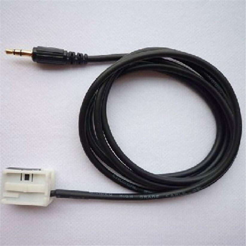 Car styling kongyide Cables Car Accessory 3.5mm Audio AUX Cable Input For Peugeot 408 Se ...