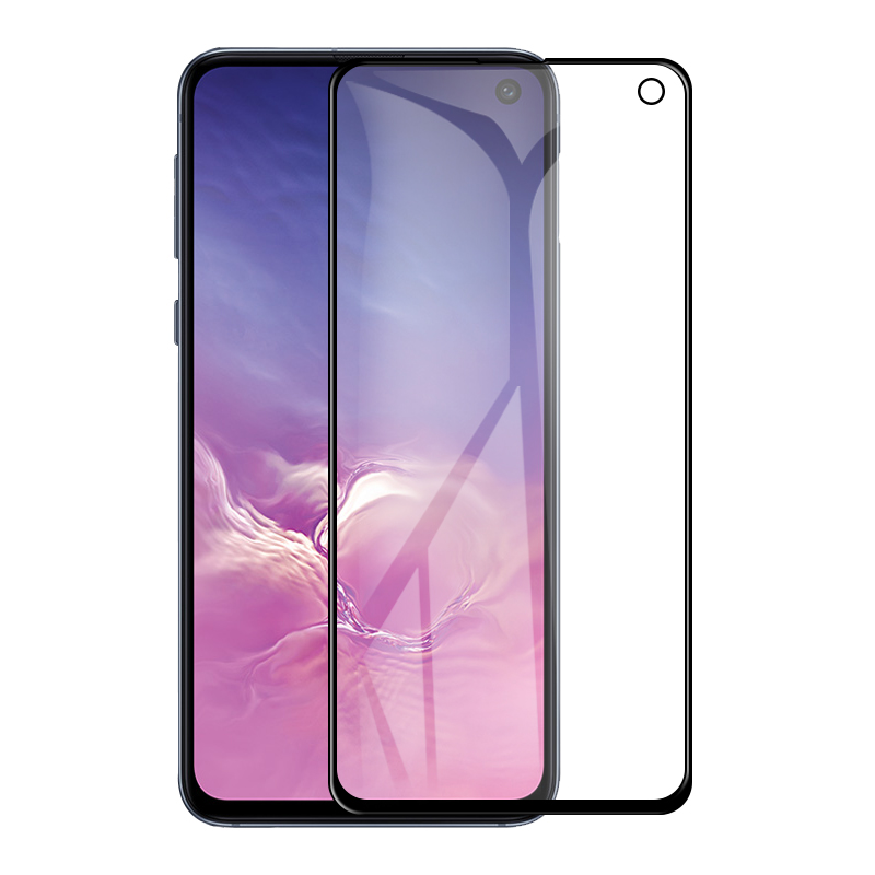 GerTong 5D Full Cover Protective Glass For Samsung Galaxy S10E S 10e Phone 9H Screen Protector Film On Galax S10e Tempered Glass