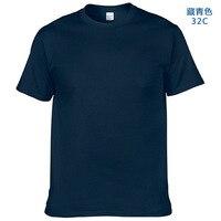 YRSY 01 06 Mens T Shirts Short Sleeve White Cotton T Shirt Tops Short Sleeve Cool
