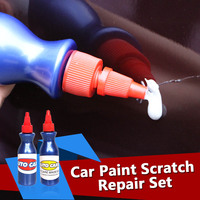 2 Step Car Repair Paint Scratches Removal Scuff Scratch Remover Kit Easy Operation Effective Economy Paint