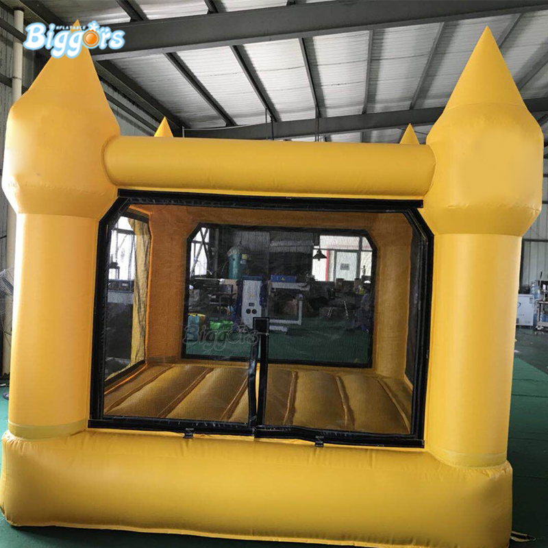 Commercial inflatable mini bounce house bouncy castle with blowersCommercial inflatable mini bounce house bouncy castle with blowers