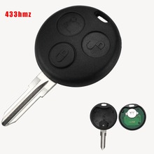 Jingyuqin 3 Buttons Smart Remote Car Key For Mercedes Benz Fortwo 450 Forfour Roadster Chiave 433MHz Auto Fob Blade