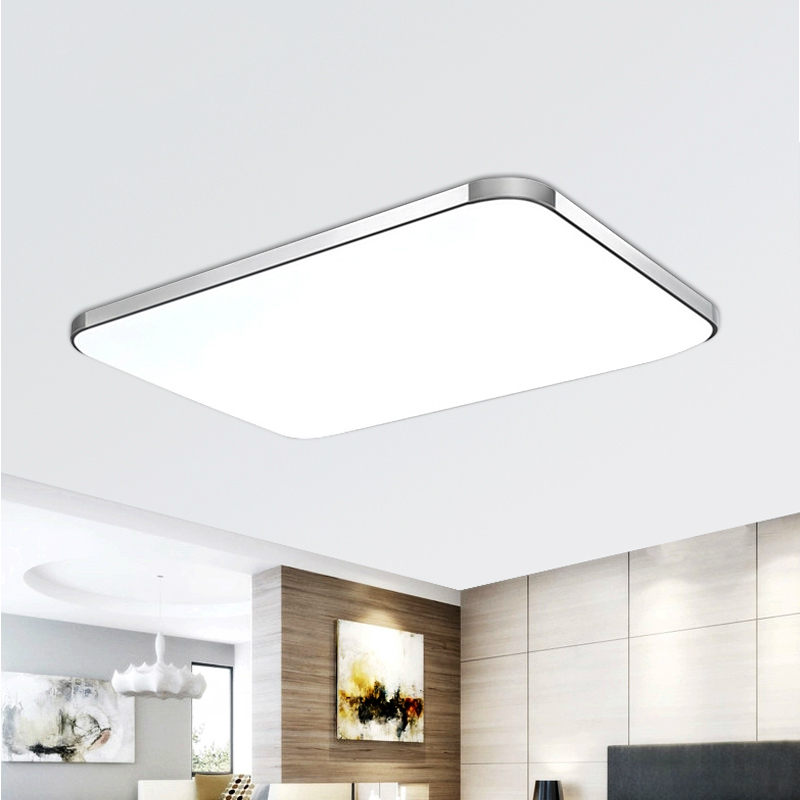 buy modern led ceiling light living room bedroom lamp lamparas de techo plafoniere lampara techo salon ac v from reliable lampara