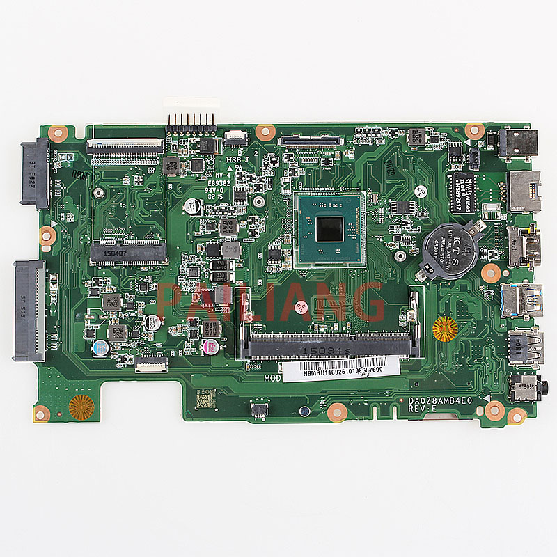 PAILIANG Laptop motherboard for ACER ES1-411 PC Mainboard NBMRU11002 DA0Z8AMB4E0 full tesed DDR3PAILIANG Laptop motherboard for ACER ES1-411 PC Mainboard NBMRU11002 DA0Z8AMB4E0 full tesed DDR3