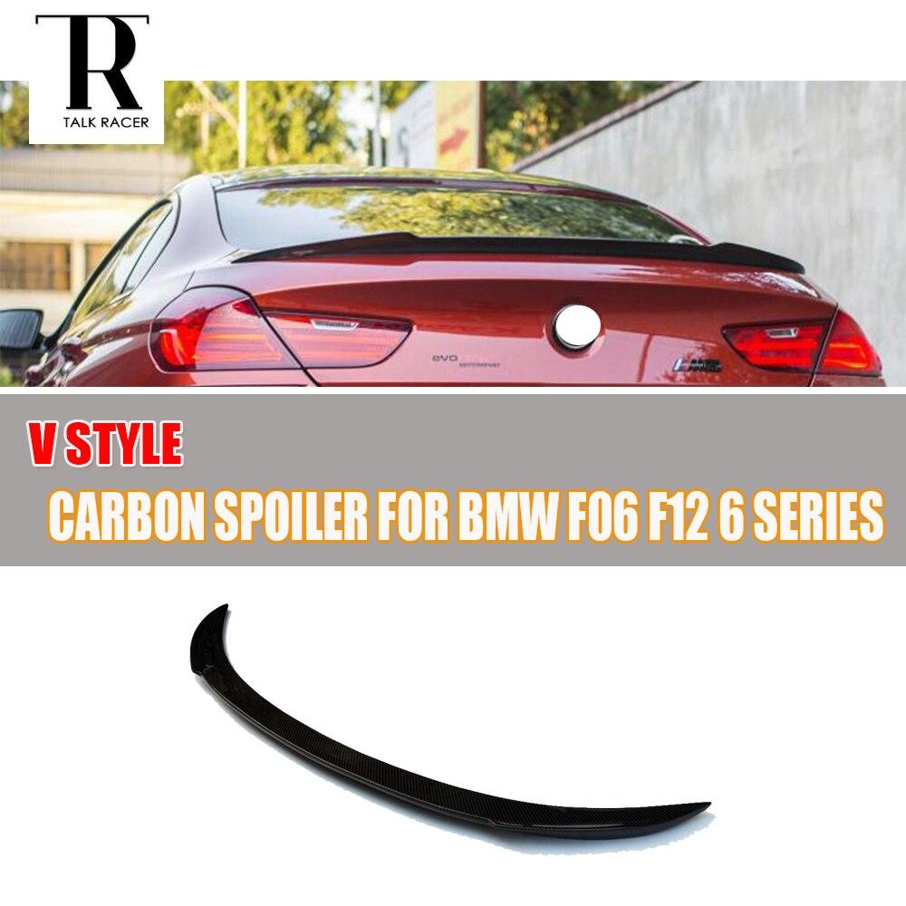 F06 F12 F13 Spojler zadního křídla z uhlíkových vláken pro BMW F06 Gran Coupe F12 Cabrio F13 Coupe 640i 650i 640d 2012 - 2018