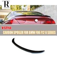 F06 F12 F13 Carbon Fiber Rear Wing Spoiler for BMW F06 Gran Coupe F12 Convertiable F13 Coupe 640i 650i 640d 2012 2016