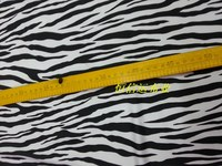 Stretch Spandex Print Latin Modern Dance Wear Swimming Suit Fabric Lycra Zebra Print