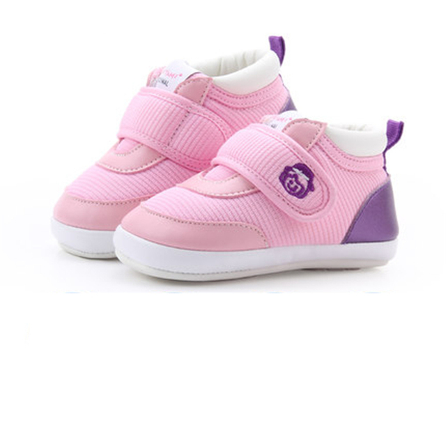 Newborn Baby Girl Shoes Princess 1 Year Anti Slip Footwear Fashion Cute Cotton High Quality Baby Shoes Winter Warm 70A1068