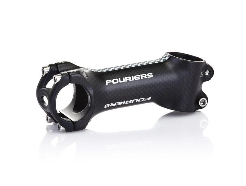 FOURIERS carbon fiber package aluminum alloy bicycle stem 17 degrees road/mtb bike carbon Stem 3K UD 31.8X 70-140MM fouriers hb mb008 n2 320 carbon fiber ud mountain bike straight handlebar 31 8x750mm 170g 9 degrees