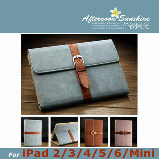 Retro Stand Flip Smart PU Leather Cover for iPad Mini 1 2 3 for iPad 2 for iPad 3 for iPad 4 Tablet Case With Buckle+Stylus Pen retro style cards slot wallet bag smart cover pu leather case for ipad mini 4 3 2 1 im426