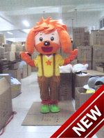 2017 New Hot Sale Dog Mascot Costume For Adults Christmas Halloween Outfit Fancy Dress Suit Free Shipping Drop Shipping