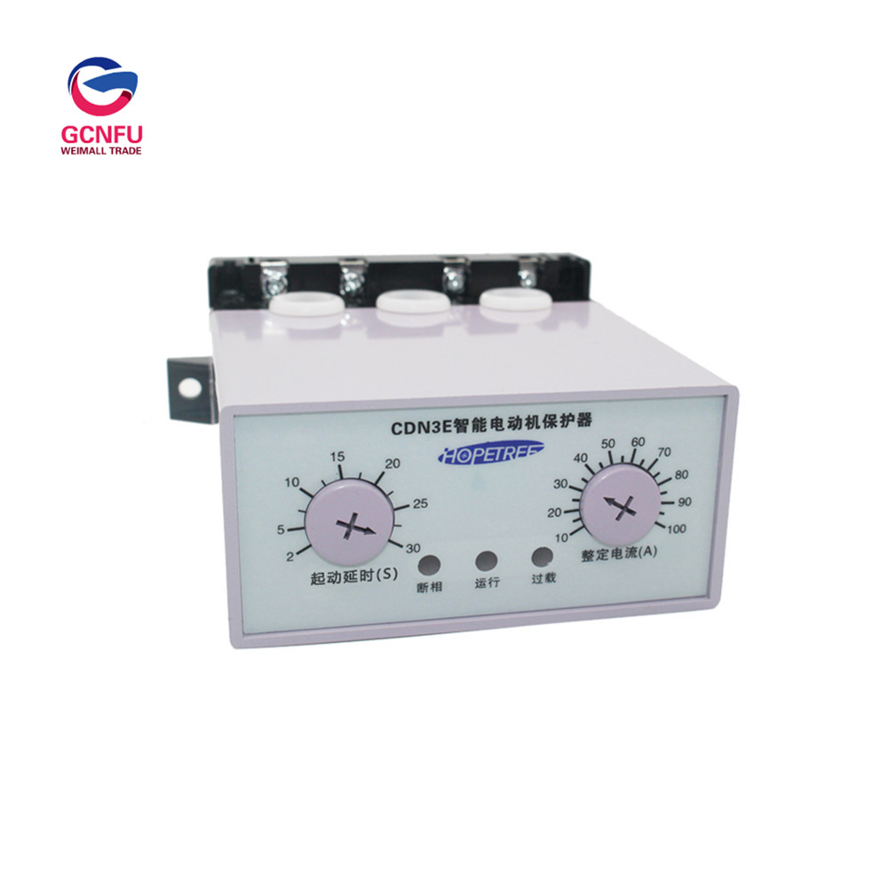 Wholesale High Quality Intelligent Motor Protector Lack phase Overload Protection Comprehensive Protector AC 380V 50HZWholesale High Quality Intelligent Motor Protector Lack phase Overload Protection Comprehensive Protector AC 380V 50HZ