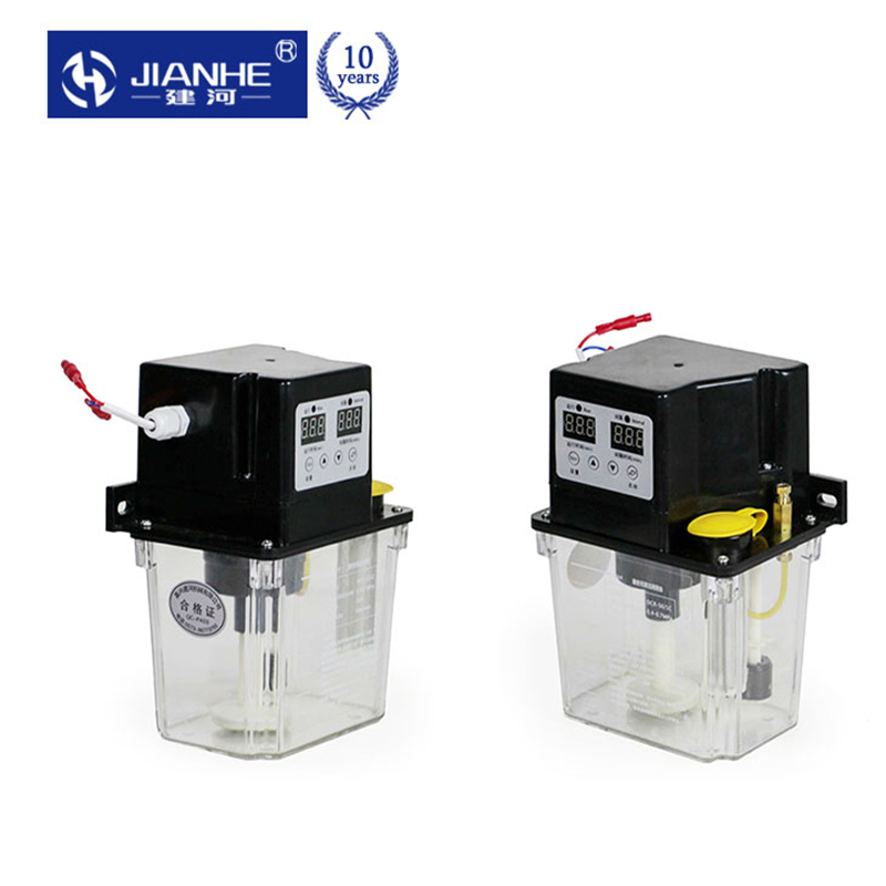 220V 6mm 2L Auto Lubrication Pump CNC Electronic timer LCD Automatic Oiler