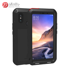 Love Mei Powerful Case For xiaomi max3 Premium Waterproof Shockproof Aluminum Case Cover for Xiaomi Mi Max 3 free Tempered Glass стоимость