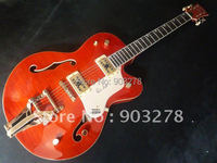 G5125 Jazz guitar electricHollow Boby orange color hot sell