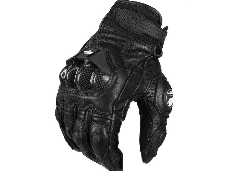 AFS6 gloves Motorcycle riding gloves racing protection gloves leather moto gloves цена