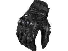 Afs6 перчатки мотоцикла езда перчатки гонки защитные перчатки кожа moto перчатки